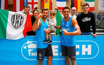 Dutch women and Italian men top the podium at FIVB World Tour event