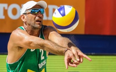 Beach volleyball changed my life