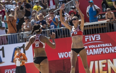 Canadians stun Germany to reach semis